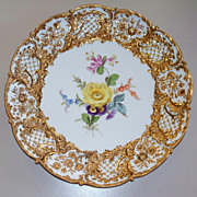 Antique Meissen Charger