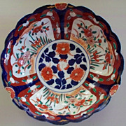 Japanese Imari Bowl Meiji Period  Restored