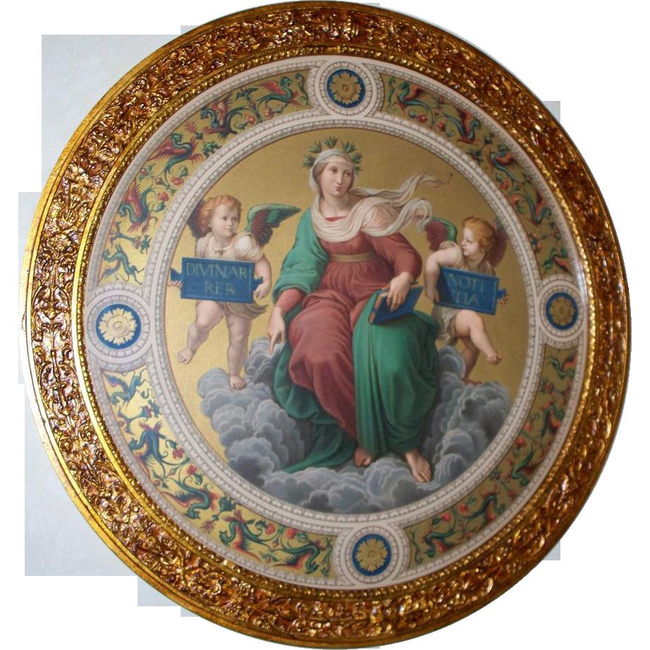 Three Antique Renaissance/Michelangelo Style Mezzotints ...