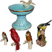 Five Vintage German Goebel Birds Collection