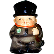 Vintage Goebel Friar Tuck/Monk with Four- Leaf Clover Stein Figurine   Dated 1972