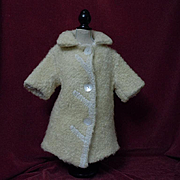 All Original Antique Lamb's Coat for german bisque french bebe doll