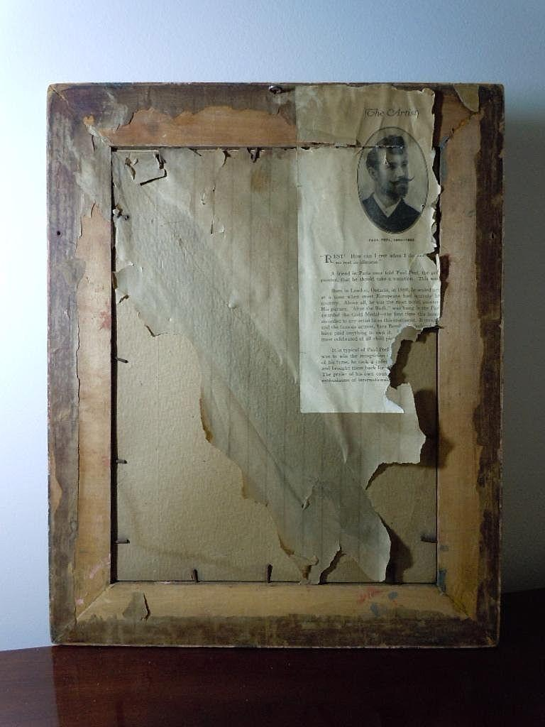 All Original Antique Framed Print Quot After The Bath Quot By Paul