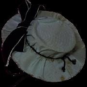 "All Original Antique Hat for 18"" to 21"" antique french bebe Jumeau Steiner Bru"