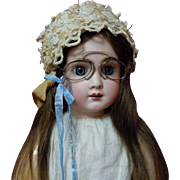 Antique 1890's Pince Nez Eyeglasses Lorgnette Spectacles for huge doll
