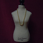 Lovely All original Old Necklace for antique german french bisque doll
