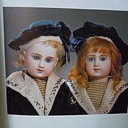 Poupees Dolls by Nella Cresteto Oppo Hardcover Book color illustrations