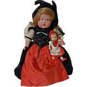 Beautiful All Original Old 10 inches Celluloid Doll movable arms and legs