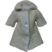 ll Original Antique early century Lamb's Coat for german bisque french bebe doll