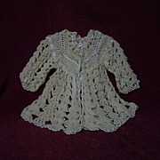 Wonderful All Original wool silk Sweater for baby compo german french Jumeau bisque doll