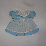 Lovely vintage mid century cotton organdy Dress for composition doll