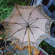 Rare Antique Doll Umbrella Parasol