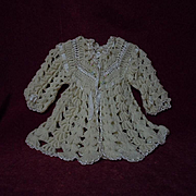 All Original 1920's wool silk Sweater for french Jumeau Bebe doll
