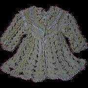 Wonderful All Original 1920's wool silk Sweater for french Bebe Jumeau  Steiner Eden doll