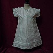 Original Antique Chemise  Dress w/ Slip for huge doll