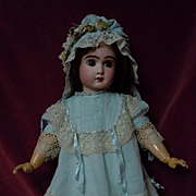 Lovely Dress Slip Bonnet for german french bisque doll