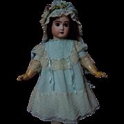Lovely Dress Slip Bonnet for german french bisque doll