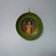 Beautiful Old Framed Print miniature