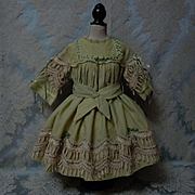 Beautiful Dress for huge german french bisque doll
