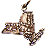 Sterling NEW YORK Vintage Charm