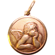 Gorgeous Sterling ANGEL Vintage Charm