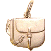 Awesome Sterling SATCHEL Travel Design Vintage Charm