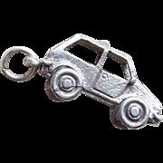 Sterling Car Mechanical Vintage Charm