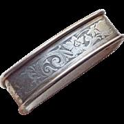 Antique Sterling Napkin Ring - Signed Webster