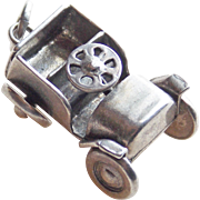 1940s Sterling Army Jeep Sweetheart Vintage Charm