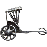Awesome Sterling RICKSHAW Mechanical Vintage Charm