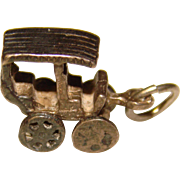 Sterling Old Time BUGGY CAR Vintage Charm