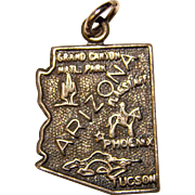 Awesome Sterling ARIZONA Vintage Charm