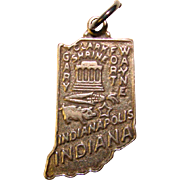 Sterling INDIANA Vintage Charm - Bell Trading Post