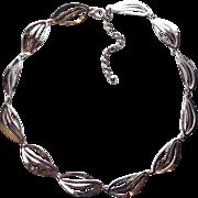 Gorgeous CARL ART STERLING Signed Vintage Necklace