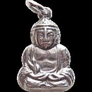 Sterling Buddha Vintage Estate Charm