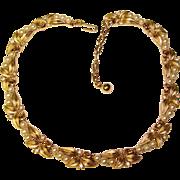 Fabulous TRIFARI Faux Pearl & Rhinestone Necklace