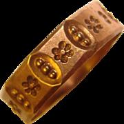 Wonderful Ostby & Barton 10K Gold Baby Ring