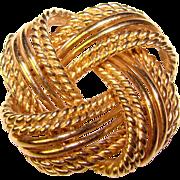 Beautiful BOUCHER Classic Knot Design Vintage Brooch