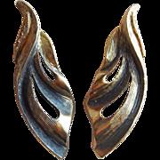 Gorgeous TORTOLANI Signed Vintage Earrings