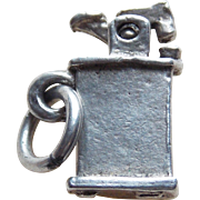 Sterling Cigarette Lighter Mechanical Vintage Charm
