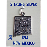 Awesome NEW MEXICO Sterling Vintage Estate Souvenir Charm