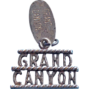 Awesome Sterling GRAND CANYON Vintage Charm