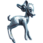 Sterling BAMBI Vintage Charm