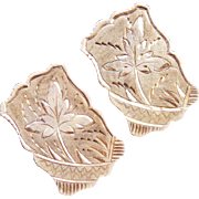 Gorgeous 1880 VICTORIAN Large Aesthetic Cufflinks
