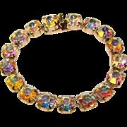 Gorgeous AURORA RHINESTONE Vintage Line Bracelet