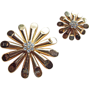 Awesome Coro Atomic Vintage Scatter Brooches