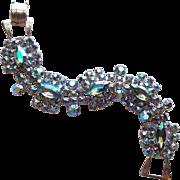 Gorgeous Smoke Aurora Rhinestone Vintage Bracelet