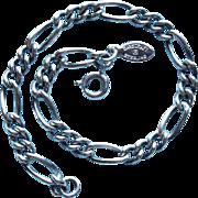 Gorgeous DANECRAFT Sterling Charm Starter Vintage Bracelet