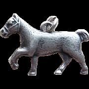 Sterling Horse Vintage Charm