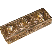 Gorgeous Ornate Vintage Pill or Snuff Box